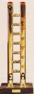 gioiello La scala, oro e argento