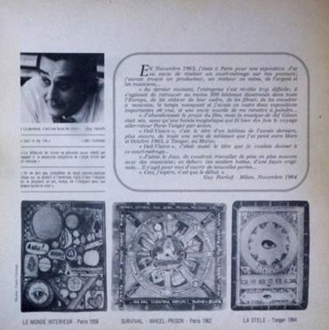 Oeil-Vision Interno del disco di Jef Gilson