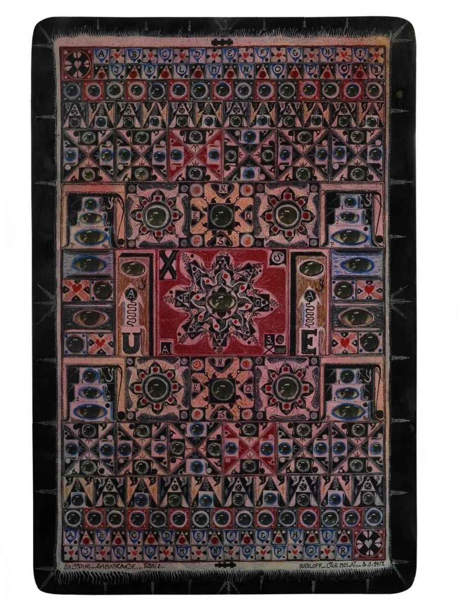 Tav. 19. Shirvan...Samarcande...Tabriz...Otok Molat, 1972, BASSA RISOLU
