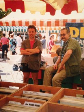 Harloff negli anni '80 (luogo e data non noti). Foto inviatami da Riccardo Ferroli, Novara