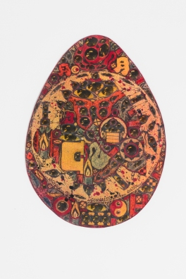 The Egg, 1988, cm 31x 22,5. Di Massimo Vianelli